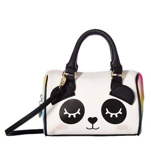 Small Betsey Johnson Multi-Colored Satchel NWT
